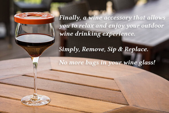 Wine-Tapa® - The Wine Glass Cover